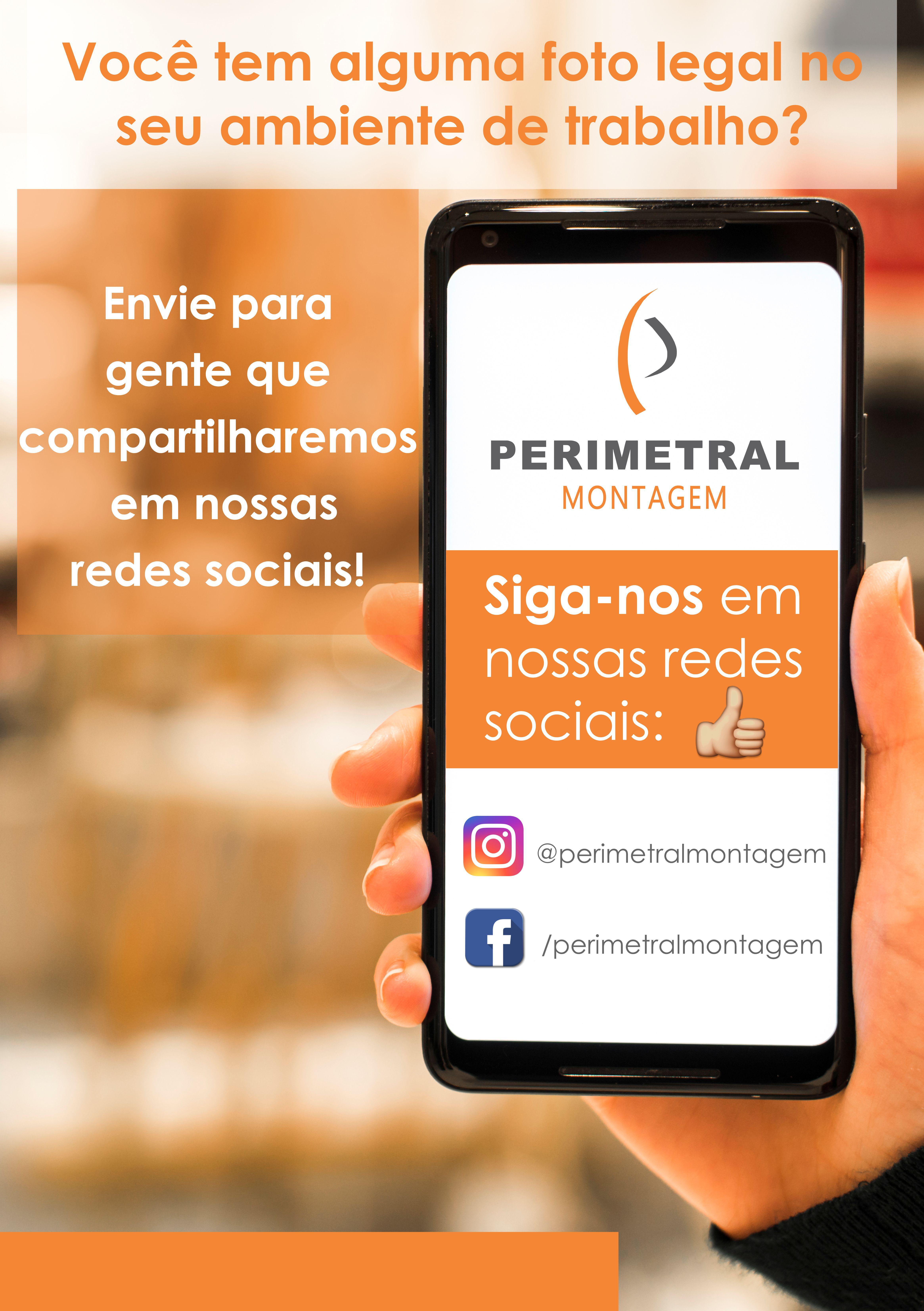A Perimetral está nas Redes Sociais!