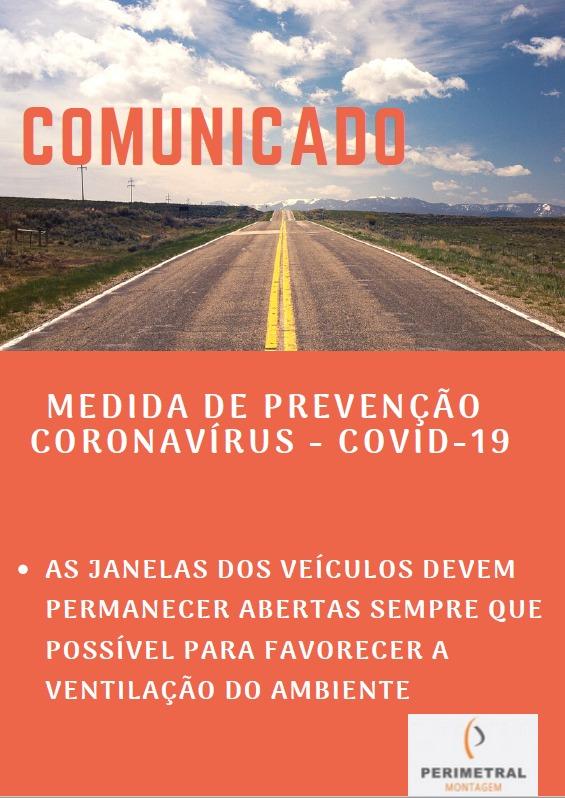 Orientações de Prevenção para o Coronavírus