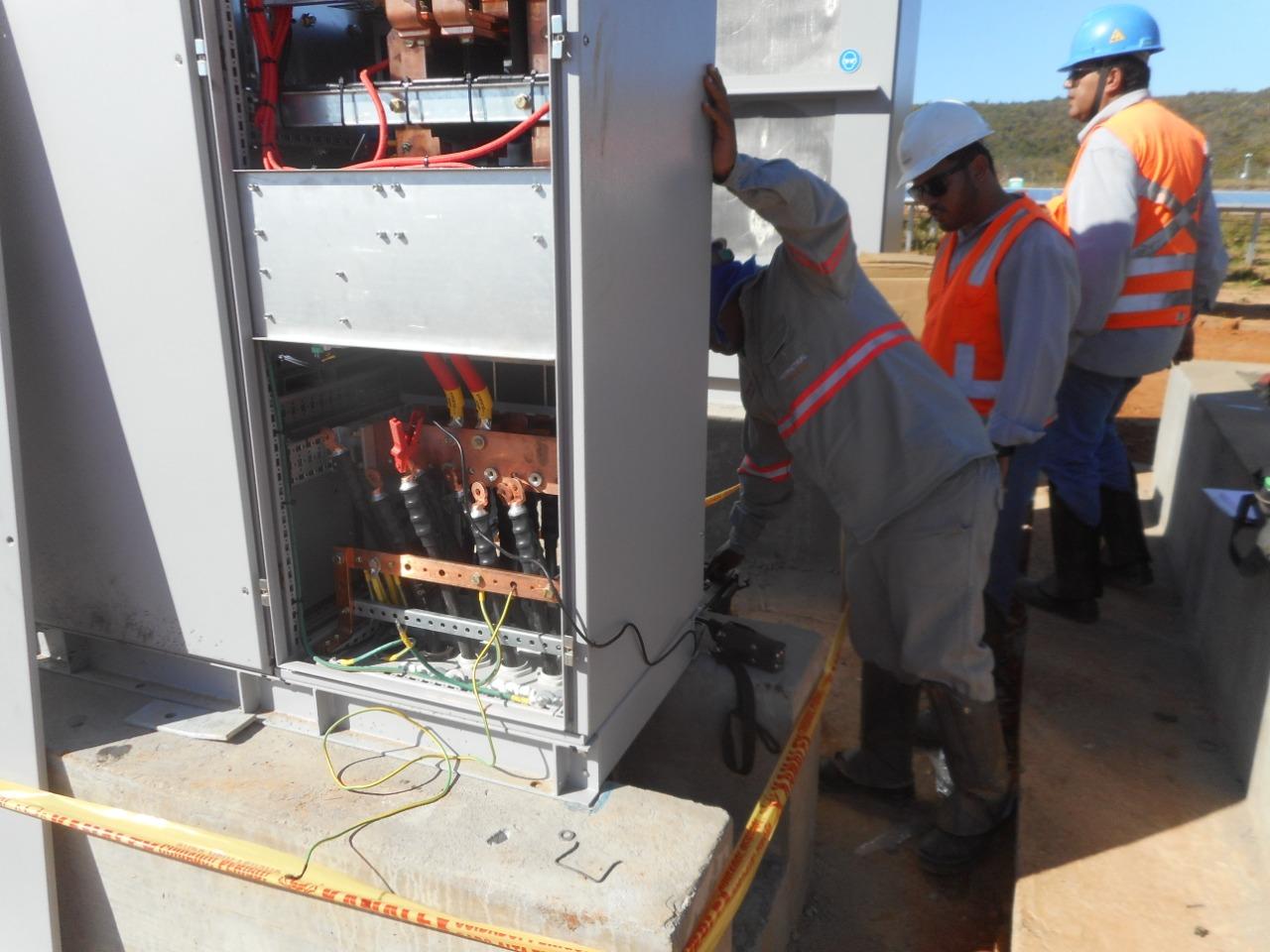 Montagem Eletromecânica UFV Pirapora